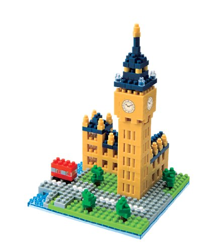 Nanoblock Sites to See Plus, Big Ben