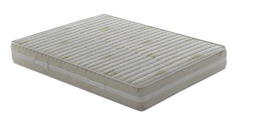 Materasso Memory Piazza e mezza modello Top Air misura 120x190 Alto 25 cm Rivestimento Aloe Vera