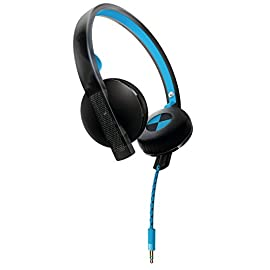 Philips O'Neill SHO4200BB/28 THE BEND Headband Headphones, Black/Blue (Discontinued by Manufacturer)