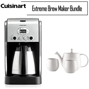Cuisinart Coffee Maker Turns On But Doesnot Brew : Amazon.com: Cuisinart 10 Cup Thermal Extreme Brew Coffee Maker: Drip Coffeemakers: Kitchen & Dining