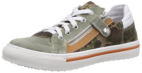Walk safari SNEAKER, Low-Top Sneaker bambino, Verde (Grün (CR MILITARE)), 35
