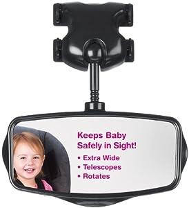 Lindam - Espejo retrovisor para vigilancia del bebé por Munchkin en BebeHogar.com