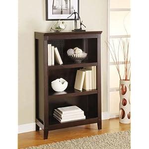 Linon Home Decor on Amazon Com  Linon Home Decor 80167esp 01 Kd Bookcase 3 Shelf Espresso
