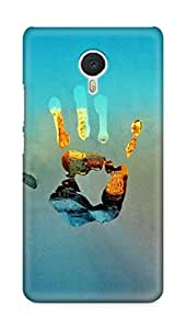 Amez designer printed 3d premium high quality back case cover for Meizu M3 Note (Winter Hand)