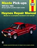 Haynes Manuals 61030 - Mazda Pick-Up '72-'93 - Part # 61030