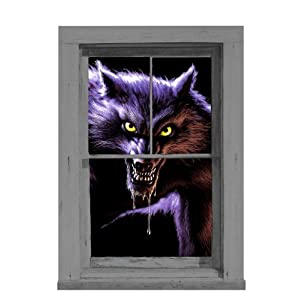 Werewolf Translucent Window Decorations