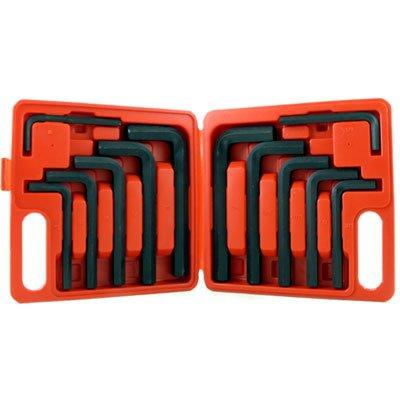 12 PCS Large Jumbo Hex Key Set Metric & Standard Sizes