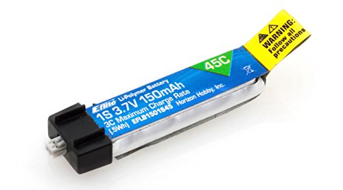 e-flite B1501S45 150mah 1s 3.7v 45c Lipo Battery