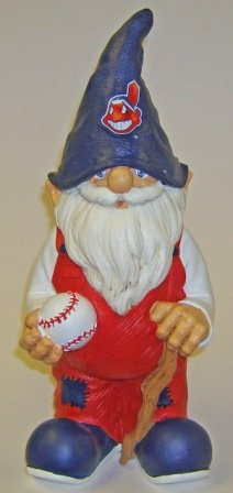 Forever Collectibles MLB Cleveland Indians Team Gnome