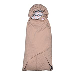 Lodger Wrapper Clever Quilt Cotton Car Seat Wrap Blanket (031 Nude)