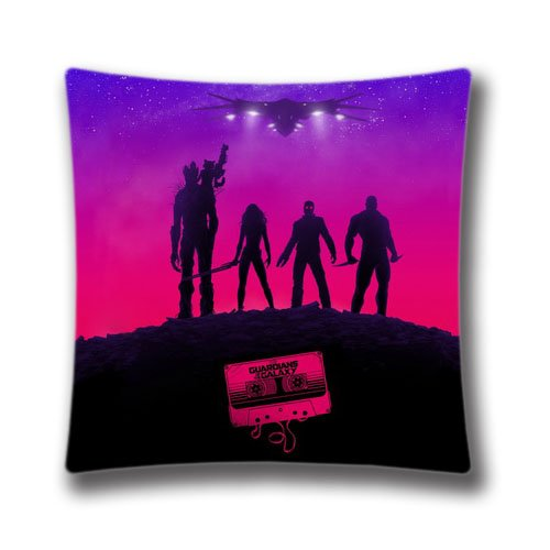 Amazing DIY Design Home Decorative Custom Guardians Of The Galaxy Pillow Case 16X16 inch(two (Guardians Of The Galaxy For Sale)