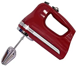Orpat OHM 217 200-Watt Hand Mixer (Red)