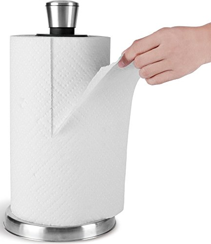 Royal Stainless Steel Paper Towel Dispenser with Weighted Base