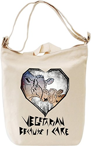 vegetarian-because-i-care-canvas-bag-day-canvas-day-bag-100-premium-cotton-canvas-dtg-printing-