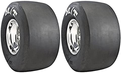 Set of Mickey Thompson ET Drag Racing Bias Tires - 28.0/9.0-15