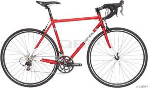 All-City Mr. Pink Complete Bike 49cm Red/White