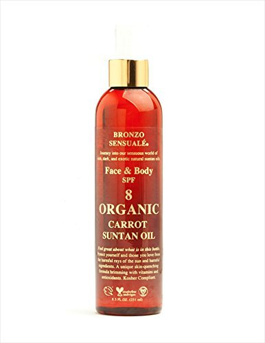 bronzo-sensuale-spf-8-organic-carrot-oil-6-oz
