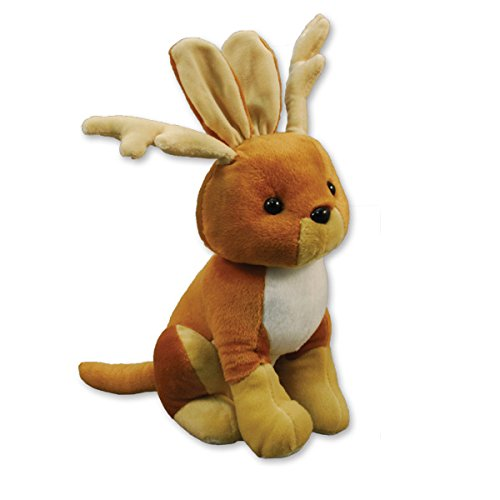 "Jackelope Plush Toy - 16"" Tall"