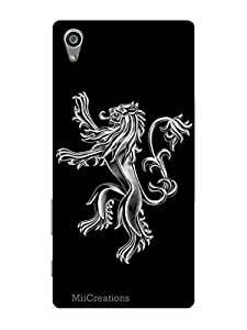MiiCreations 3D Printed Back Cover for Sony Xperia Z5,Dragon