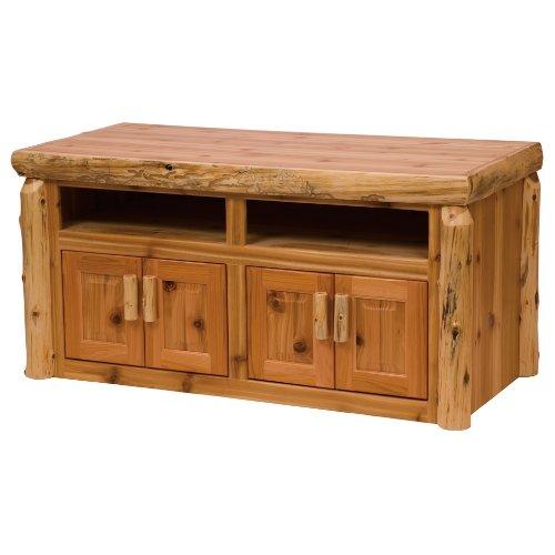 Cheap Fireside Lodge Traditional Cedar Widescreen TV Stand (B005DKHHOY)