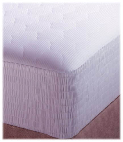 Croscill Pima Cotton Stripe California King Mattress Pad front-832358