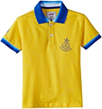 Status Quo Cubs Boys' Polo Shirt (CB-CL-090_Yellow_30)