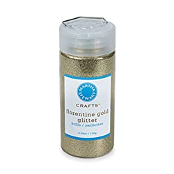 Martha Stewart Crafts Fine Glitter, Florentine Gold, 4.58 Ounces