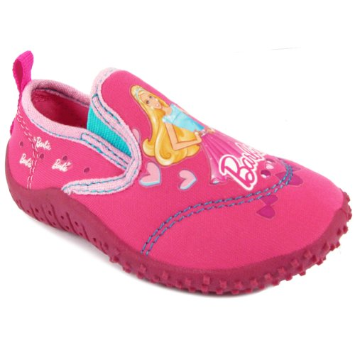 Mattel Barbie Water Shoe Girls' Toddler Slip On 10 M Us Toddler Pink front-776098