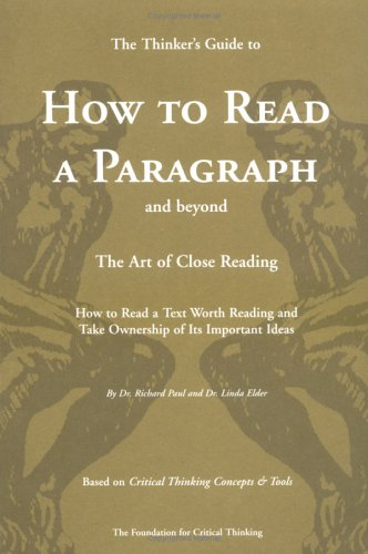 GUIDE TO READ A PARAGRAPH: THE ART OF CLOSE READING