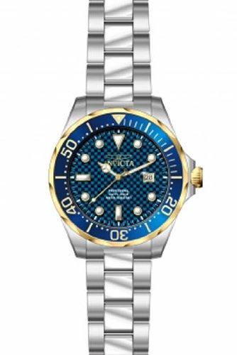 Invicta Grand Diver Blue Carbon Fiber Dial Mens Watch 12566 (Carbon Fiber Dial Watch compare prices)