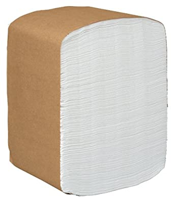 "Kimberly-Clark Scott 98740 Full Fold Dispenser Napkin, 13"" Width x 12"" Depth (16 Packs of 375)"