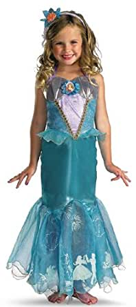 Child Ariel Prestige Storybook Princess Costume From Little Mermaid 50510
