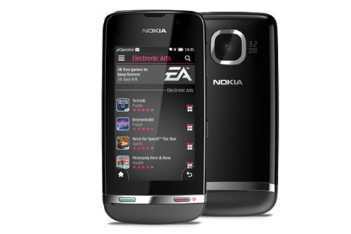 Nokia - Asha 311 Dark Grey 4GB included Factory Unlocked International Version PENTA BAND 3G HSDPA 850 / 900 / 1700 / 1900 / 2100 by Nokia -