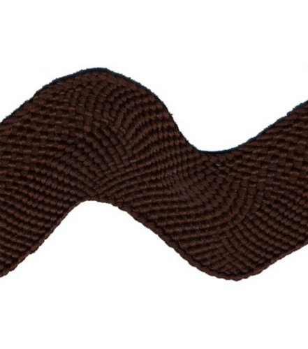 Jumbo Rick Rack 1-1/2 Inch Wide 15 Yds.-BROWN