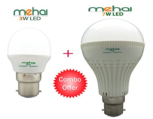 7w And 3w White LED Bulbs