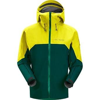 始祖鸟Arc'teryx Rush Jacket 男士顶级3层GTX防水透气冲锋衣黄绿$357.47第三方