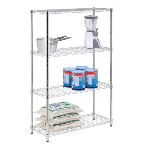 Honey-Can-Do SHF-01906 4-Tier Adjustable Shelving