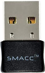 SMACC Nano N150 Wifi USB Adapter (Black) , USB WIFI ADAPTER