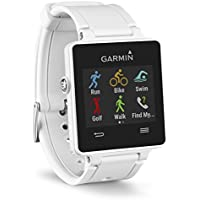 Garmin Vivoactive GPS Multi Sport Fitness Smart Watch (White)