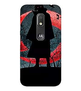 EPICCASE Vampire Mobile Back Case Cover For Moto Play (Designer Case)