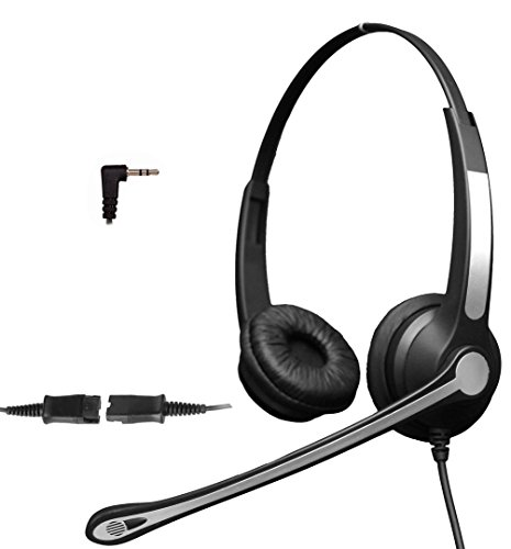 4call-k702fqj35-35mm-dual-telephone-headset-for-business-office-deskphones-alcatel-lucent-ip-touch-4