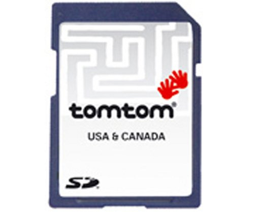 Tomtom Map Of USA & Canada [Multiplatform Use with any Tomtom GPS]