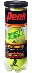 Penn Championship XD High Altitude Tennis Balls (Single Can/ 3 Balls)