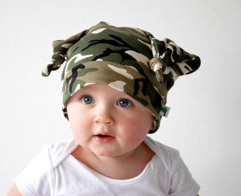 STUNNING UNUSUAL BOYS GIRLS COTTON HAT BABY TODDLER MILITARY STYLE ARMY HAT CAP