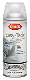 Krylon 10.25-Ounce Easy Tack Repositionable Adhesive Spray