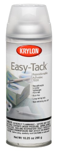 Krylon 10.25-Ounce Easy Tack Repositionable Adhesive Spray