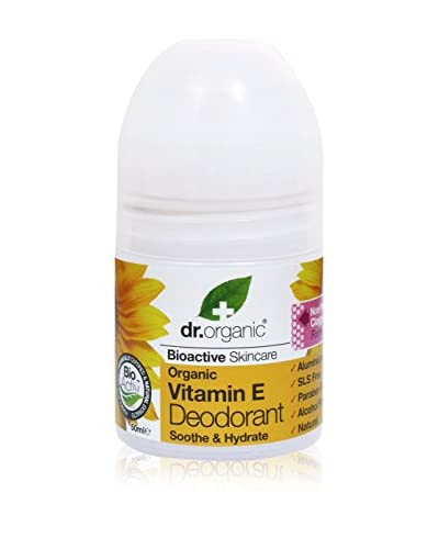 Dr. Organic Set Desodorante Roll-On 6 Uds. Vitamin E 300 ml