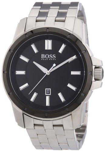 Hugo Boss  1512924 - Reloj de cuarzo para hombre, con correa de acero inoxidable, color plateado
