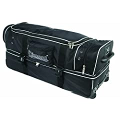 Diamond Sports Deluxe Wheeled Umpire Bag (33-Inch) by Diamond Sports