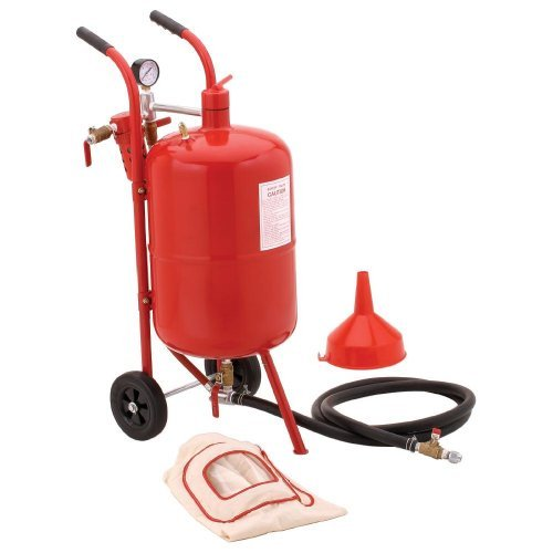 XtremepowerUS 20 Galllon Air Sand Blaster with Ceramic Tips